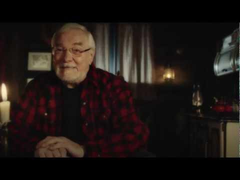 Video: Du 3 au 9 décembre, dès 19 heures, découvrez l'histoire du Grand sapin de Sainte-Justine à travers les yeux du Bûcheron de Noël.