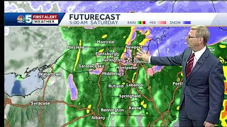 Video: Rain and significant mountain snow expected Friday/Friday Night. 11.8.18