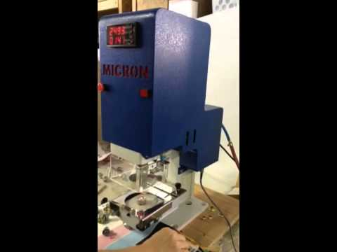 Micron MC-20 Rolled Rim Grommets & Spur Washer Installation