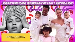 Social media GOES CRAZY!~ Beyonce's Homecoming Documentary Comes With a Surprise Album!