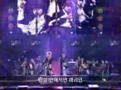 DBSK - Kim Junsu [XIAH] lost his shoe on stage
