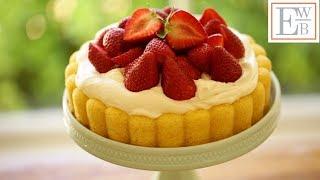 "Strawberry Shortcake ""Cheater"" Charlotte Recipe"