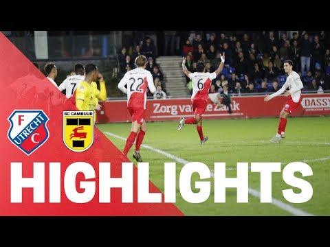 HIGHLIGHTS   Jong FC Utrecht - SC Cambuur