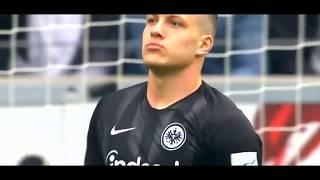 Luka Jovic 2019 | Goalmachine Insane| Goals Power| Skills |Crazy Football Skills |#14