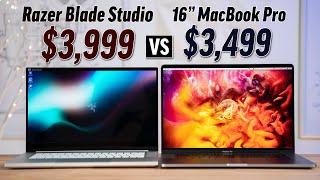 """Razer Blade Studio vs 16"""" MacBook Pro - FINALLY a MBP Killer?"""
