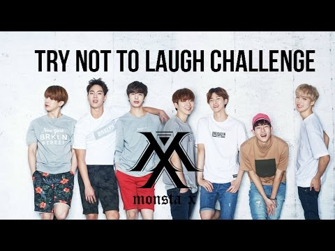 TRY NOT TO LAUGH CHALLENGE | MONSTA X