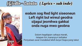 (G)I-DLE - Latata (Lyrics + sub indo)