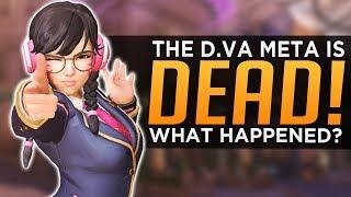 Overwatch: D.Va Meta is DEAD! - What Happened?