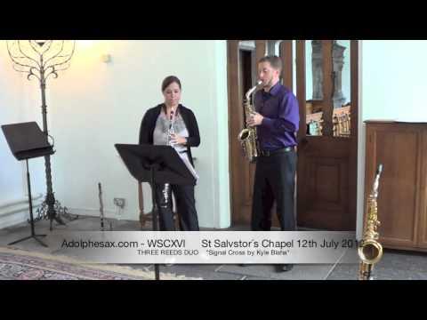 WSCXVI THREE REEDS DUO   Signal Cross by Kyle Blaha