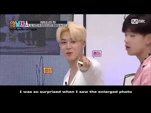 (fakesub) Jimin Reaction to Seulgi's appearance @ New Yang Nam Show
