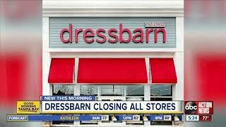 Dressbarn is going out of business