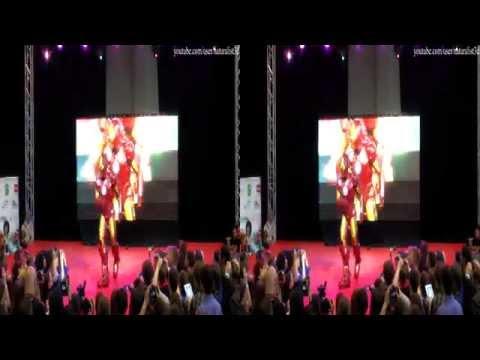 (3D) Cosplay (Iron man), AVA EXPO 2013, St.Petersburg