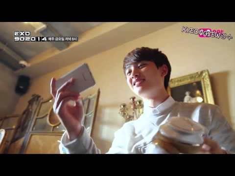 [ENG SUB] [EXO 902014] D.O. Music Video Behind the Scene