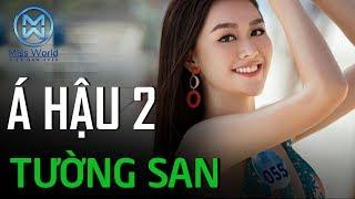 Á Hậu 2 Tường San nói chuyện tiếng Anh đầy xuất sắc và thật tự tin | Miss World Việt Nam 2019
