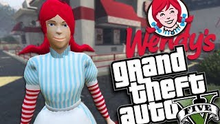 THE WENDYS GIRL MOD (GTA 5 PC Mods Gameplay)