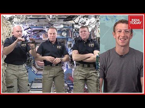 Live event: Mark Zuckerberg speaks to astronauts in space