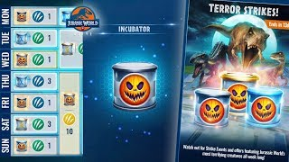 Halloween Event begins today in Jurassic World Alive