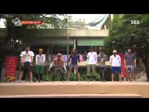 Harlem Shake Eunhyuk Uee 할렘 쉐이크 김현중 맨발의 친구들 Full @SBS Barefoot Friends 130505