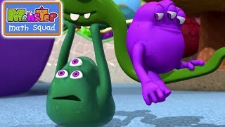 Monsters | Trouble at the Day Scare Centre | Kids Learn Math for Kids | Educational Cartoons
