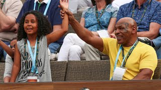 Mike Tyson Visits Indian Wells
