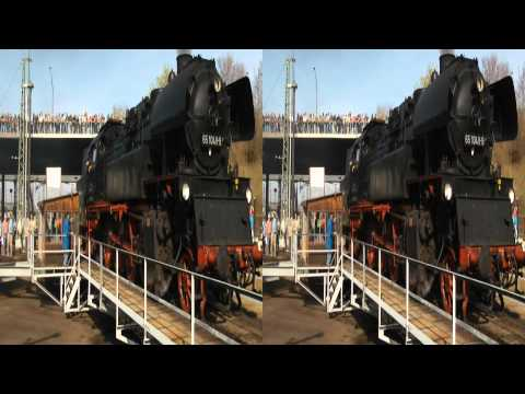 Dampfloktreffen Dresden 2011 in 3D - Teil 3 - COLOURFUL3D