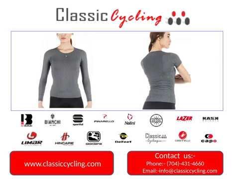 Classic Cycling   50% Discount on Women's Base Layers   Salisbury 28144 NC