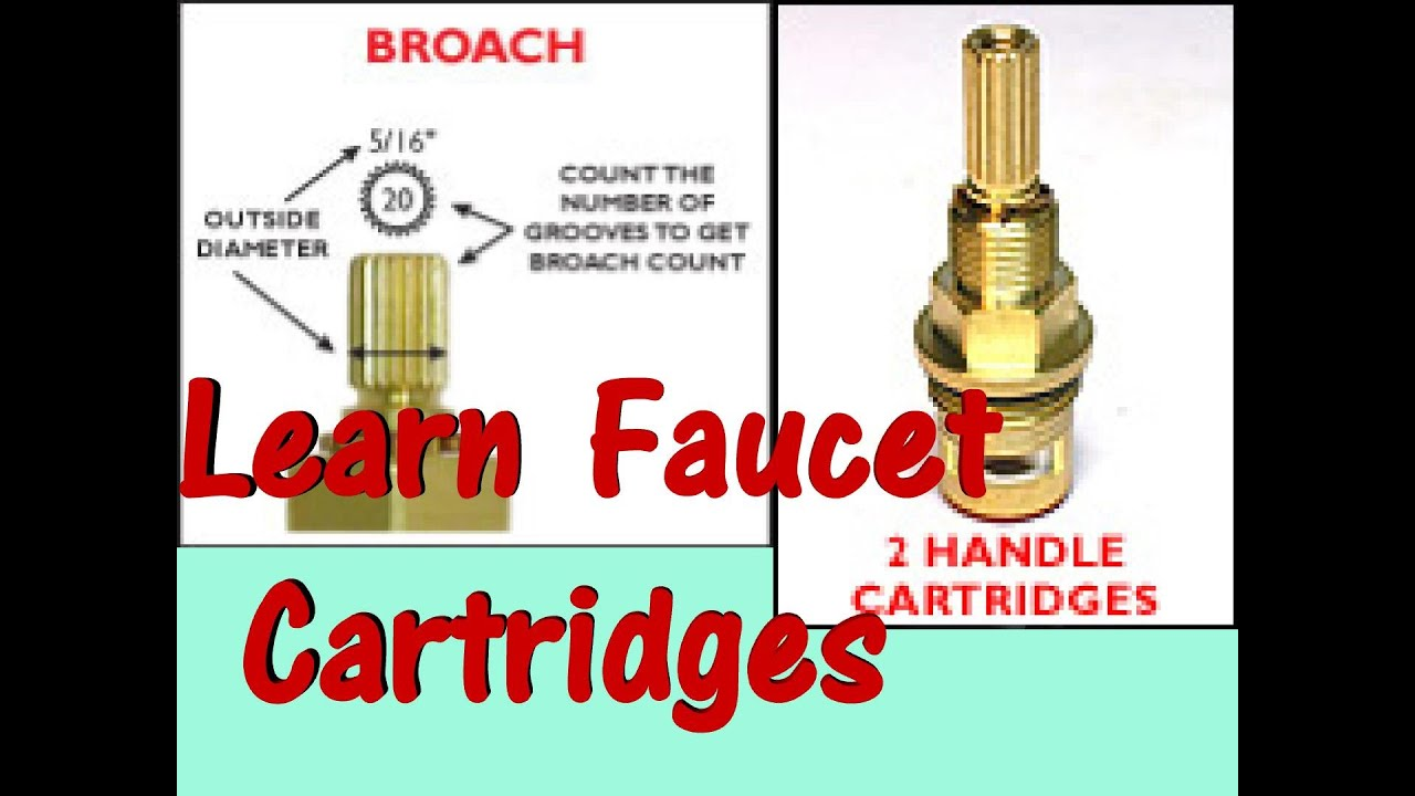 Repair Leakey Faucet With 1 4 Turn Ceramic Cartridge Youtube