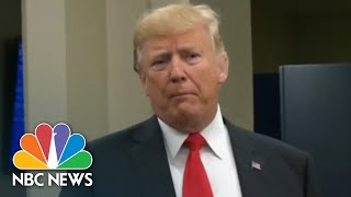 President Donald Trump: What's Happening To Brett Kavanaugh Is 'Totally Political' | NBC News