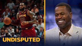 Stephen Jackson reacts to LeBron saying he would vote for himself for NBA MVP | UNDISPUTED