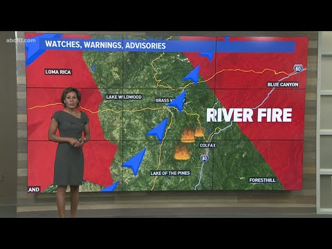 Dixie Fire and River Fire Weather Update | August 5, 2021