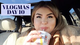 Follow Me Around Target & Lane Bryant | VLOGMAS DAY 10