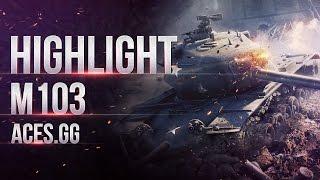 Тащить на M103? легко!
