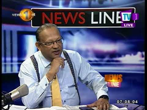 NEWSLINE TV1 The reasons for bribery and corruption Sarath Jayamanne and Faraz