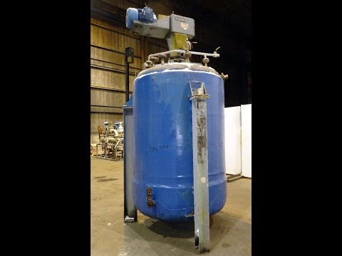 Used- Reactor, Approximately 1,000 Gallon, 304 Stainless Steel - stock # 46746002