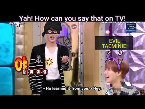 Evil Maknae Taemin Roasting SHINee Hyung'🤣😂