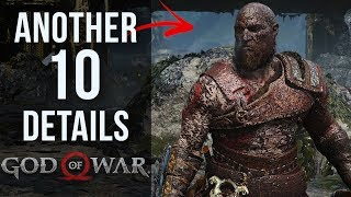 Another 10 AWESOME Details in God of War