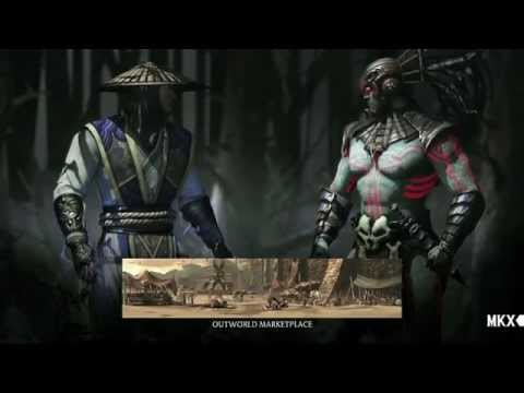 Mortal kombat x ps4 видео