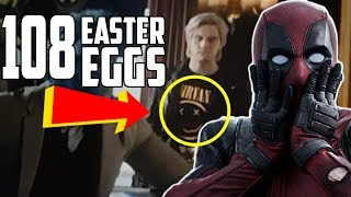 Deadpool 2 Every Easter Egg and Hidden Reference