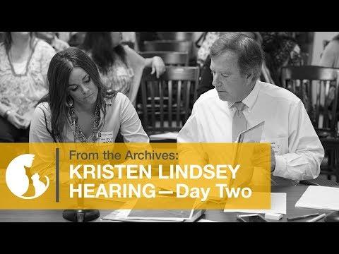 Kristen Lindsey Hearing - April 26, 2016