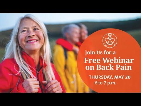 Back Pain Webinar - 5-20-2021