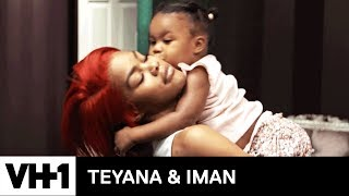 Baby Junie Helps Iman Pack 'Sneak Peek' | Teyana & Iman