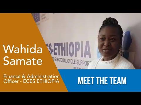 Wahida Oum Samate - Agent des Finances/Administration - ECES Ethiopie
