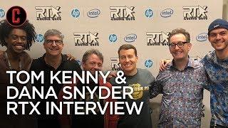 Tom Kenny & Dana Snyder talk Paradise PD, Netflix, & Voice Acting | RTX 2018