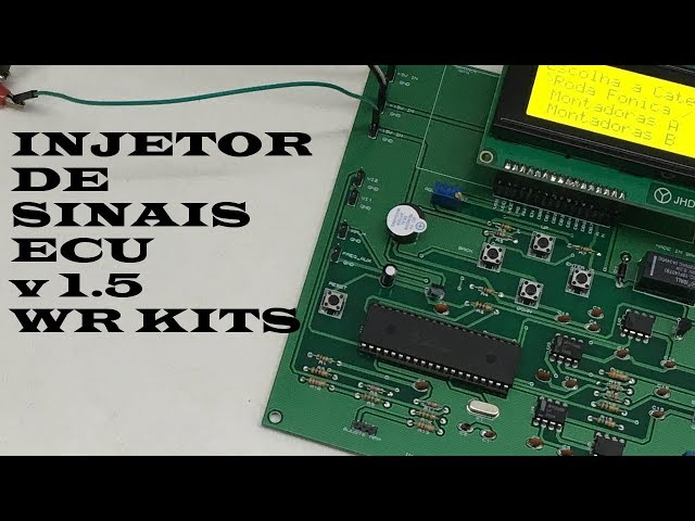 INJETOR DE SINAIS AUTOMOTIVO v1.5 ECU WR KITS!