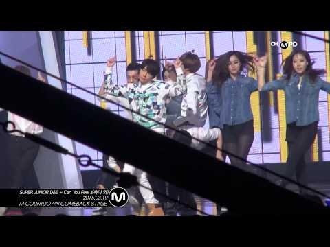 [MPD직캠]  슈퍼주니어 동해&은혁 직캠 촉이 와 Can you Feel It Super Junior D&E Fancam Mnet MCOUNTDOWN 150319