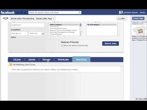 Facebook Job App Video Review