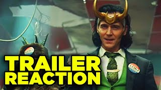 LOKI TRAILER REACTION! TVA Explained & First Thoughts!