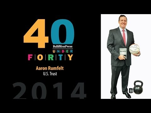 2014 Fort Worth Business Press 40 Under 40 - Aaron Rumfelt