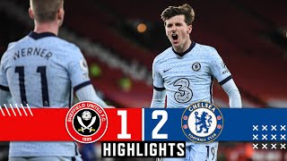 Sheffield United 1-2 Chelsea | Premier League Highlights | Mount & Jorginho goals, Rudiger Own Goal