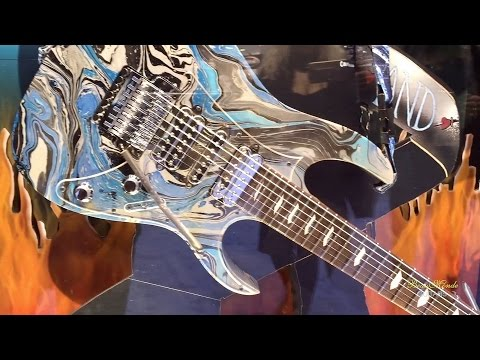 Ibanez Guitars - NAMM 2016 (Part I)